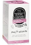 ROYAL GREEN Multi Woman multivitaminai moterims tabletės N60