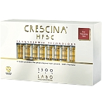 CRESCINA TRANSDERMIC RE - GROWTH HFSC 100% FORMULĖ 1300 VYRAMS N20