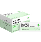 Kalium citrate 2.9g pakeliai N50
