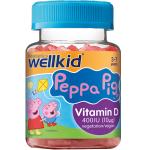 WellKid Peppa Pig Vitamin D guminukai N30