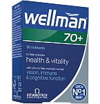 Wellman 70+ tabletės N30