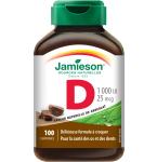 Jamieson D vitaminas suaugusiems kramtomosios tabletės N100