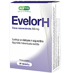 Evelor H (trans resveratrolis) 200mg N30