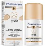 Pharmaceris F intensyviai dengianti maskuojanti pudra SPF20 Nr.3