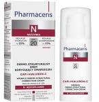 Pharmaceris N dermo struktūrinis raukšles koreguojantis kremas SPF20 Capi Hialuron C 50ml
