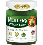 Moller's D Vitamin Extra kapsulės N60