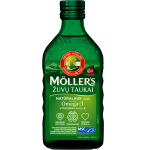 Moller's žuvų taukai natūralaus skonio 250ml