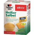 DOPPELHERZ aktiv Heisser Salbei (Hot Sage+Honey+Menthol) N10