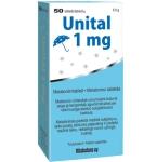 Unital melatoninas 1mg tabletės N50